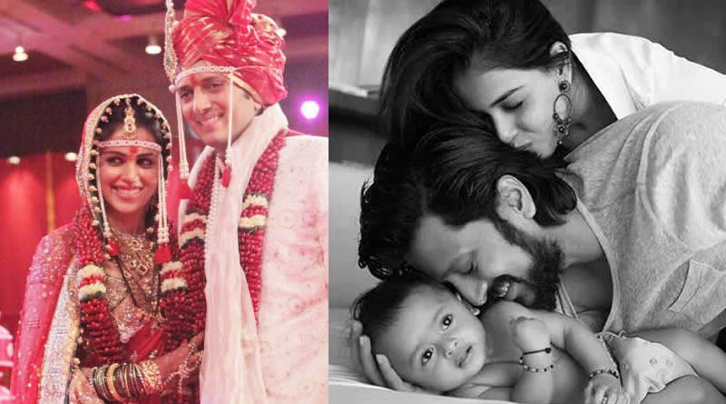 Genelia D'Souza and Riteish Deshmukh's wedding in 2012