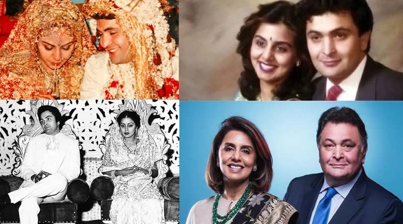 Neetu Singh and Rishi Kapoor's wedding in 1980