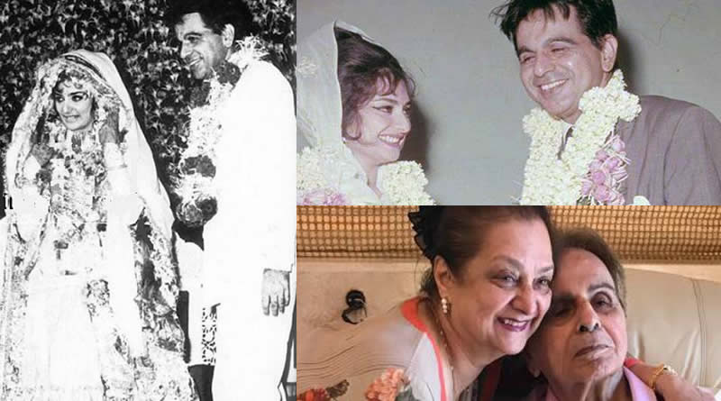 Saira Banu and Dilip Kumar's wedding in 1966