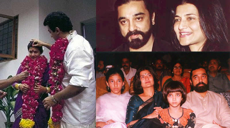 Sarika and Kamal Haasan's wedding in 1988