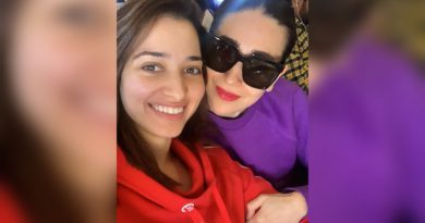 Tamannaah Bhatia's heartfelt message for her dance idol Karisma Kapoor!