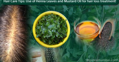 Use of Henna Leaves and Mustard Oil for hair loss treatment!