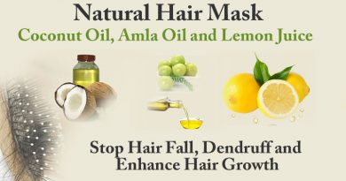 Use of Indian Gooseberry or Amla Oil, Coconut Oil and Lemon Juice for remedy of Hair Fall and Dendruff